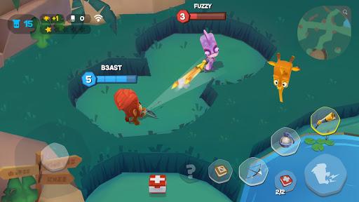 Code Triche Zooba: Bataille multi-joueurs en ligne (Astuce) APK MOD screenshots 5