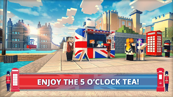 London Craft: Blocky Building Games 3D 2018 1.4-minApi19 Screenshots 2