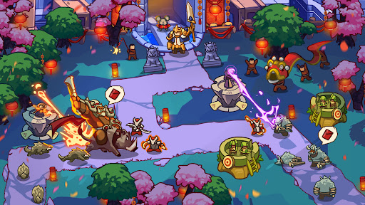 Empire Defender TD: Tower Defense The Kingdom Rush Apkfinish screenshots 7