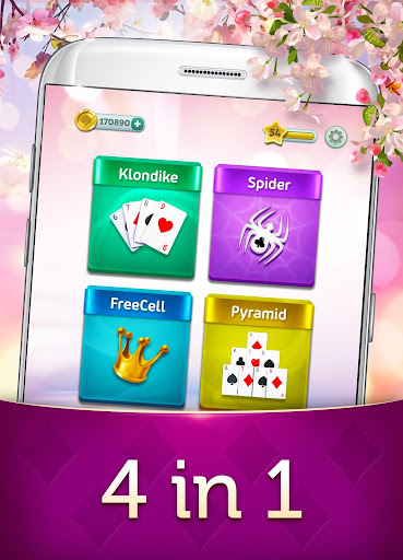 Magic Solitaire - Card Games Patience 2.10.1 screenshots 2