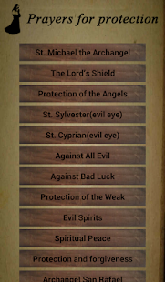 Prayers for protection Screenshot