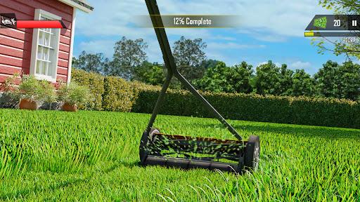 Mowing Simulator - Lawn Grass Cutting Game 0.2 screenshots 2