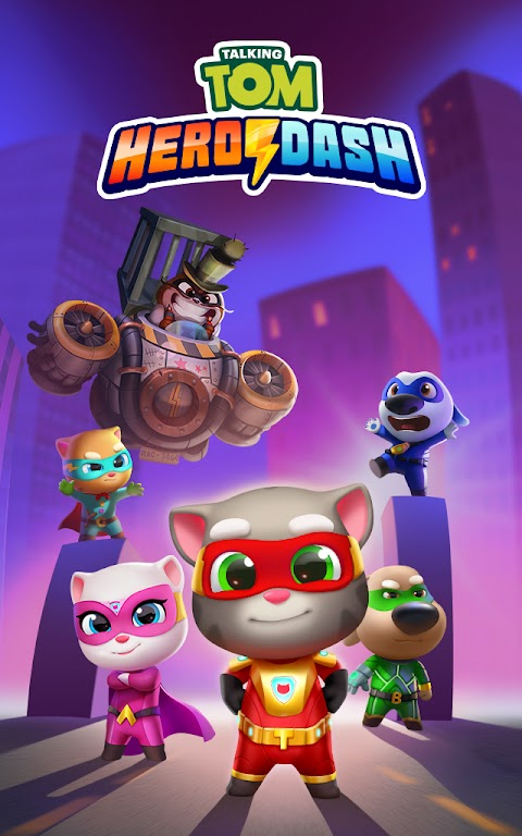 Talking Tom Hero Dash - Run Game  poster 15