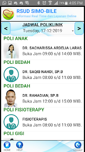 RSUD SIMOBILE Screenshot
