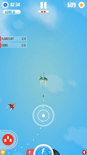 Man Vs. Missiles: Combat Screenshot
