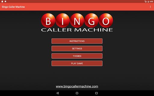 Bingo Caller Machine (free Bingo Calling App)  Screenshots 14