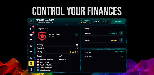 Esports Manager Simulator Unlimited Money