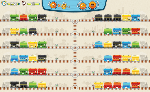 Train Mix - challenging puzzle apktreat screenshots 2