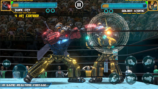 Real Robot Ring Boxing screenshots 2