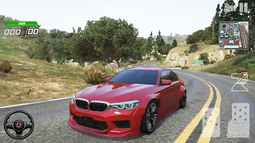 Car Driving Simulator Racing Games 2021  screenshots 4