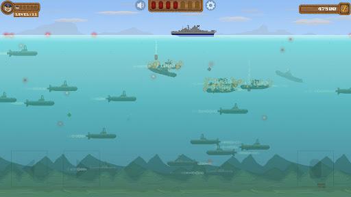 Code Triche Submarine Samurai: Modern Battleship War Game (Astuce) APK MOD screenshots 3