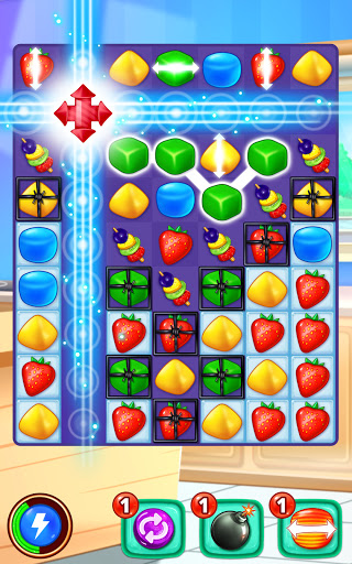 Gummy Paradise - Free Match 3 Puzzle Game 1.5.4 screenshots 4
