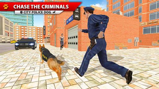 City Police Dog Simulator, 3D Police Dog Game 2020  screenshots 1