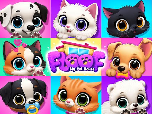 FLOOF - My Pet House - Dog & Cat Games  screenshots 15