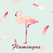 Cute Wallpaper Flamingos Theme