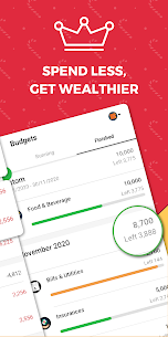 Money Lover Mod Apk: Expense Manager (Premium/Paid Unlocked) 3