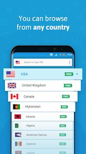 Hola Free VPN Proxy Unblocker Screenshot