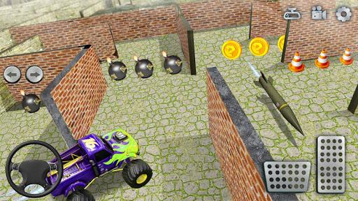 Monster Truck Maze Driving 2020: 3D RC Truck Games  screenshots 9