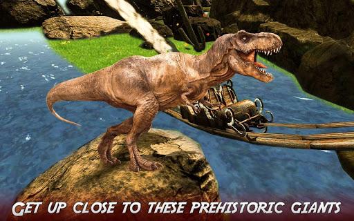 Real Dinosaur RollerCoaster VR apktram screenshots 4