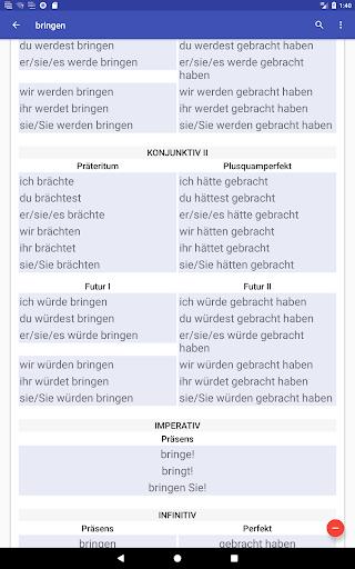 Deutsche Verben screenshots 21