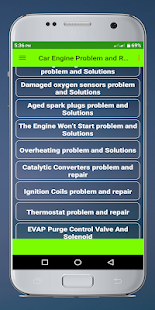 Car Engine Problem and Repair