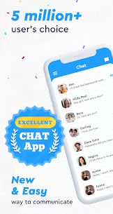 Messenger app, Light All-in-One, Live Free Chat 1