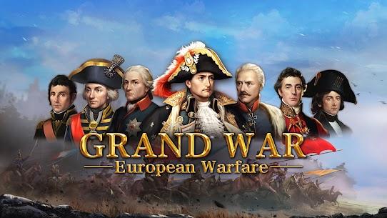 Grand War Mod Apk: Napoleon, Warpath & Strategy (Unlimited Money) 7