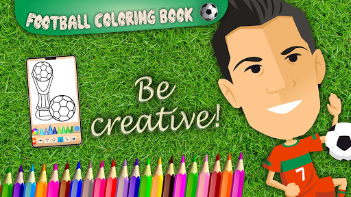 Football coloring book game screenshots 7