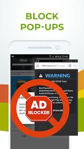 Free Adblocker Browser – Adblock & Private Browser Mod Apk v80.0.2016123394 (Premium) 2
