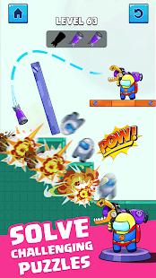 Rocket War: Impostor Fight