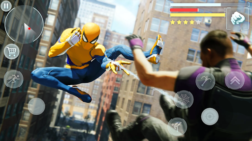 Spider Hero - Super Crime City Battle android2mod screenshots 8