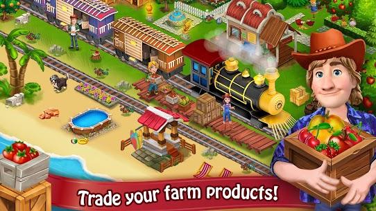 Farm Day Village Farming  Offline Games Apk 4