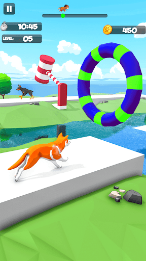 Dog Run - Fun Race 3D apkpoly screenshots 9