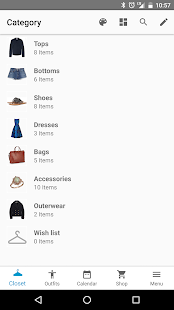 Your Closet  Smart Fashion Screenshot