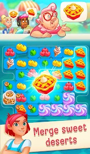 Love & Pies – Delicious Drama Merge Mod Apk (Unlimited Moves) 1