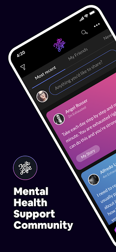 TalkLife for Anxiety, Depression & Stress 5.7.74.3 Screenshots 1