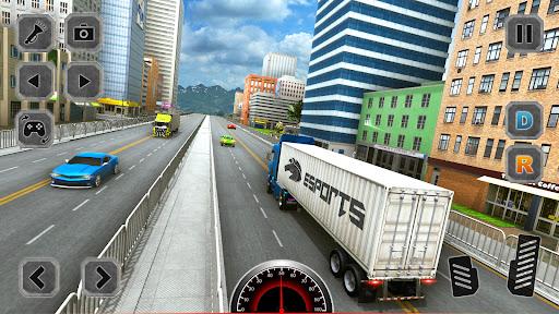 Euro Truck Driving Simulator Game  screenshots 4