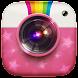 自撮りカメラ - Androidアプリ