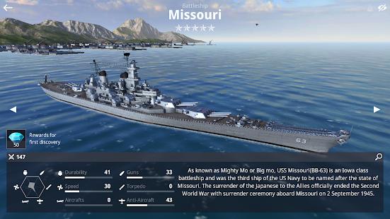 Warship Fleet Command : WW2 Naval War Game 2.01803 Screenshots 16