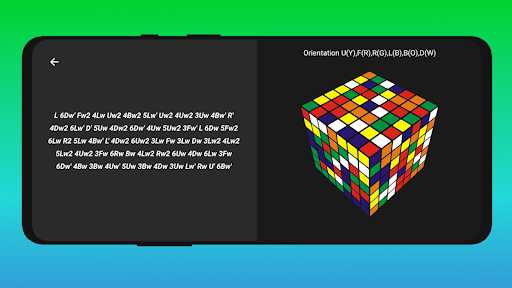 Cube Cipher - Rubik's Cube Solver and Timer apkdebit screenshots 7