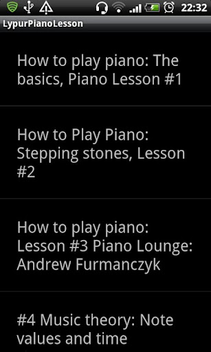 Lypur Piano Lesson For PC Windows (7, 8, 10, 10X) & Mac Computer Image Number- 5