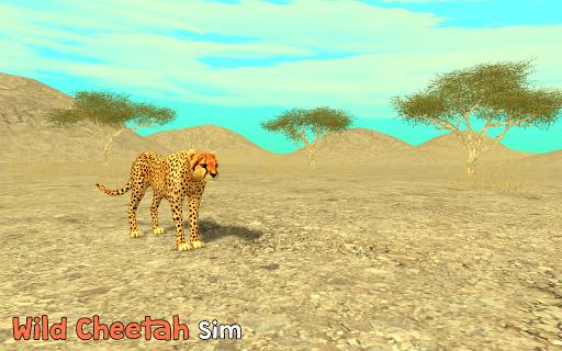Télécharger Gratuit Wild Cheetah Sim 3D APK MOD (Astuce) screenshots 1
