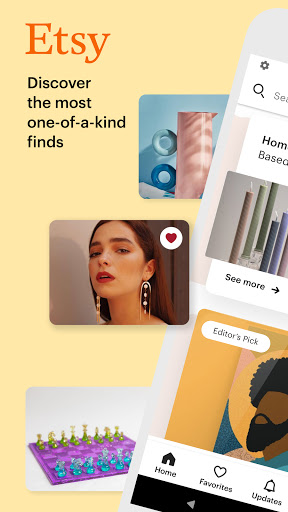 Etsy: Buy Custom, Handmade, and Unique Goods apktram screenshots 1