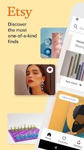 Etsy  Buy Custom, Handmade, and Unique Goods Apk 3