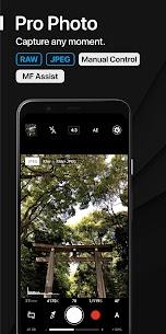 تحميل ProShot v6.3 برنامج كاميرا مهكر احترافي وكامل Android 1
