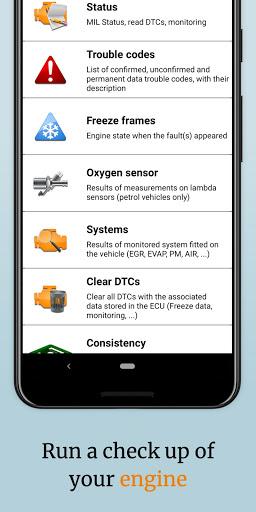 EOBD Facile  OBD2 car diagnostic scanner Bluetooth 3.27.0734 Screenshots 4