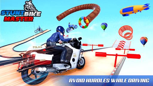 Police Bike Stunt Games: Mega Ramp Stunts Game 1.1.0 screenshots 20