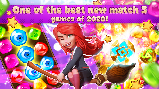 Charms of the Witch: Magic Mystery Match 3 Games  screenshots 1