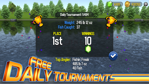 Master Bass Angler: Free Fishing Game 0.62.0 screenshots 5