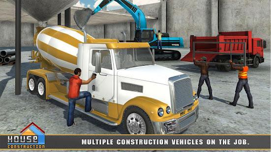 City House Construction Simulator Excavator Games 1.8 Screenshots 2